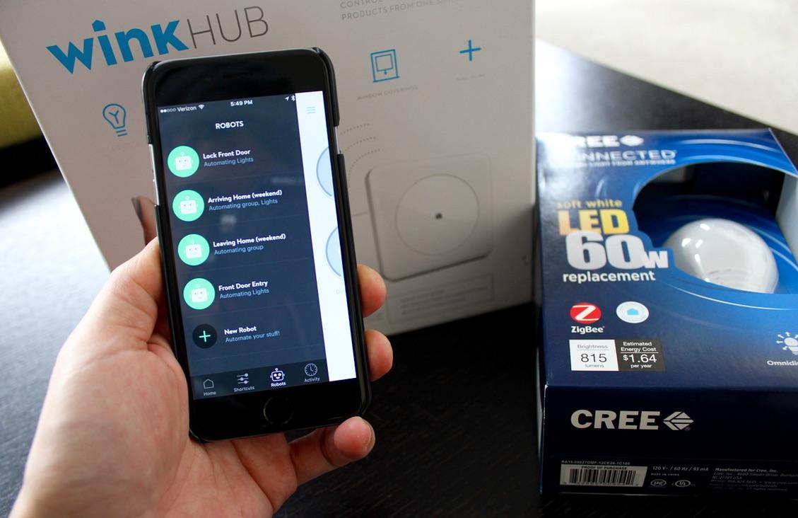 Wink Hub App