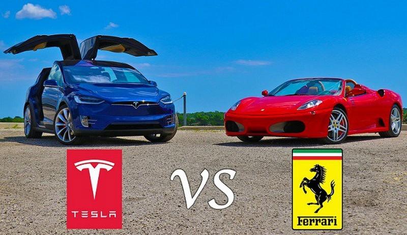 Model X vs Ferrari