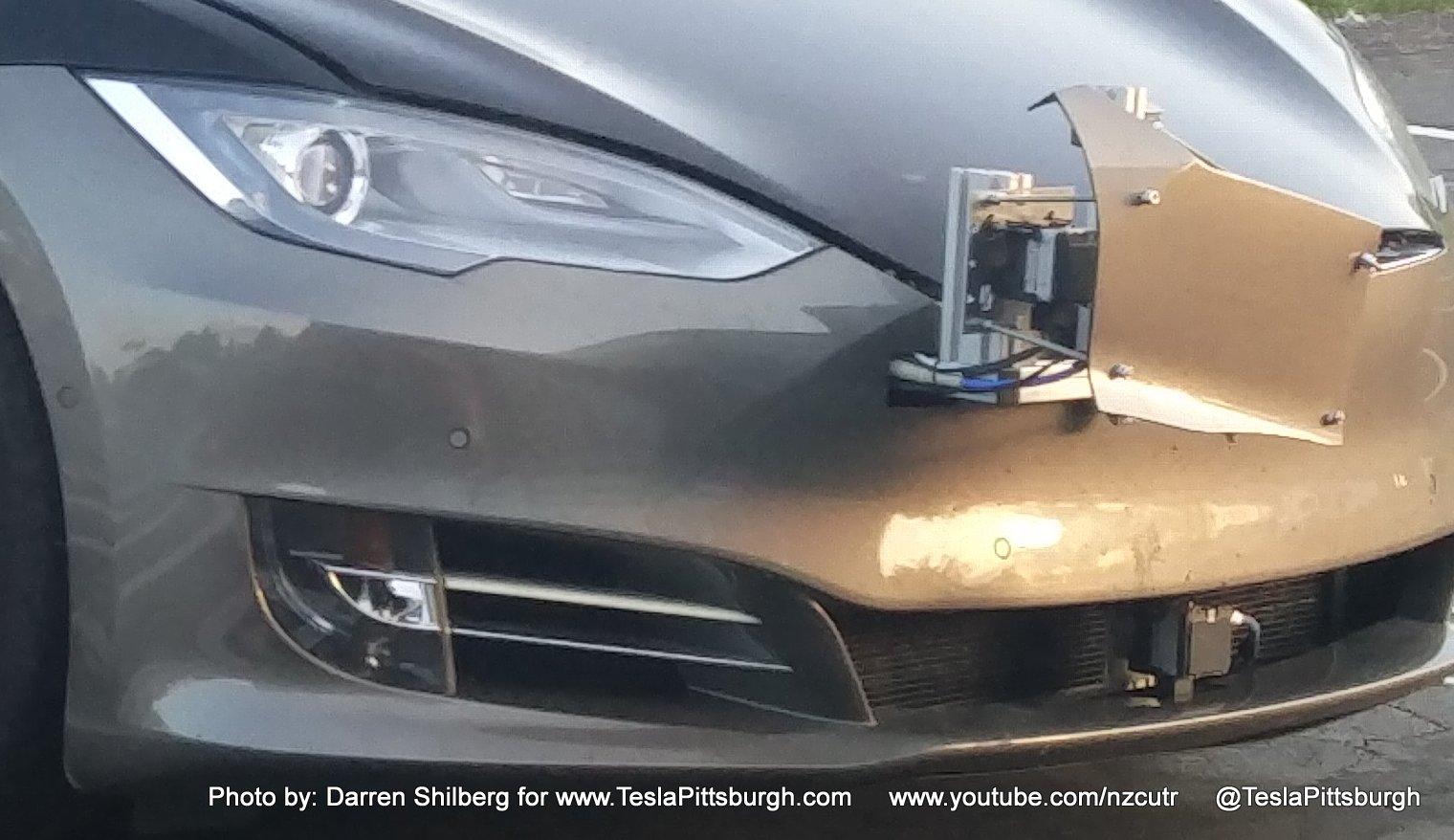 Tesla autopilot hardware
