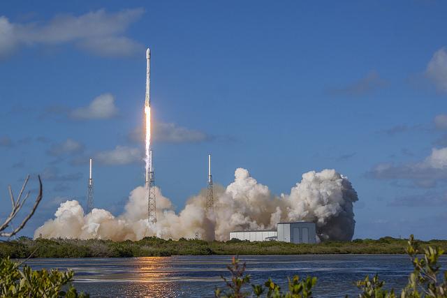 Falcon 9 launches with Thaicom 8
