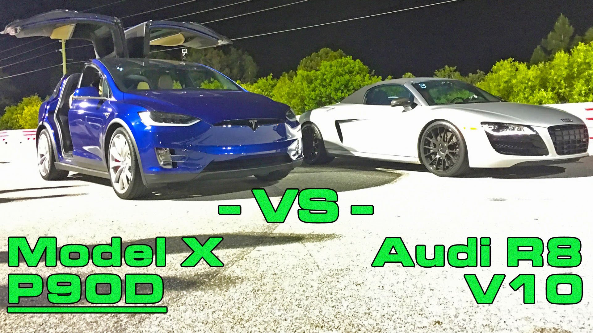 Blue-Model-X-vs-Audi-R8-Drag-Race