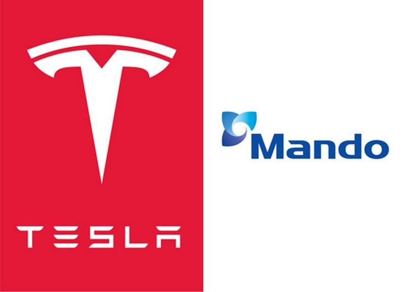 Tesla Mando logos