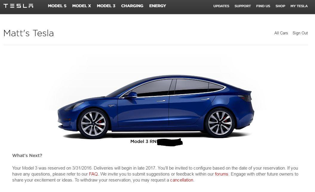 Matt Simmon's Tesla update