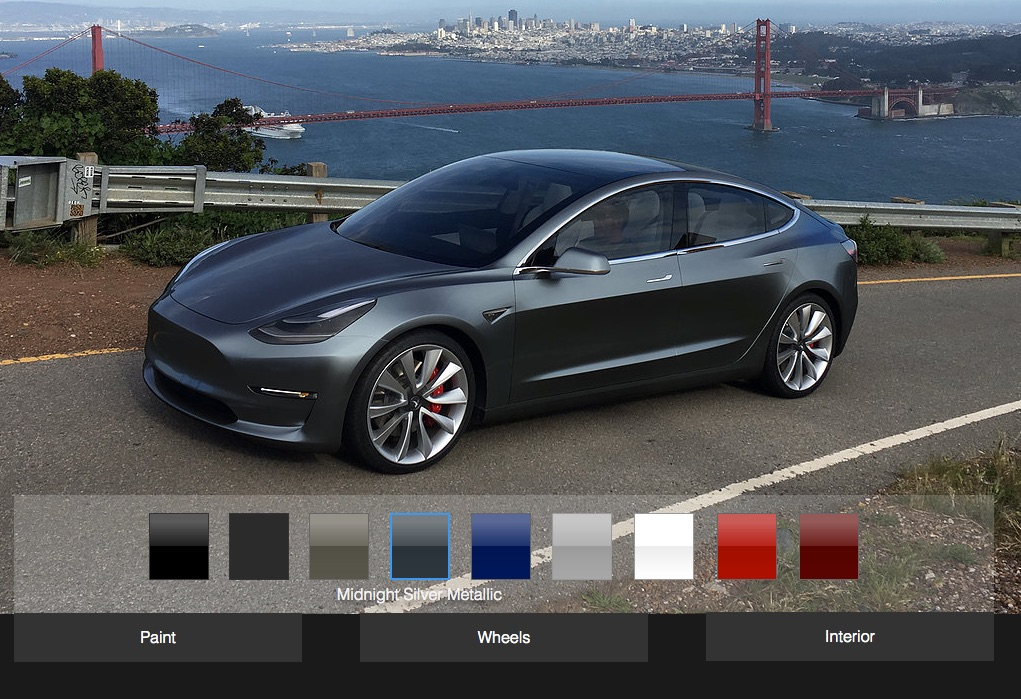 tesla model 3 design studio expected in june founders series will go to employees first. Black Bedroom Furniture Sets. Home Design Ideas