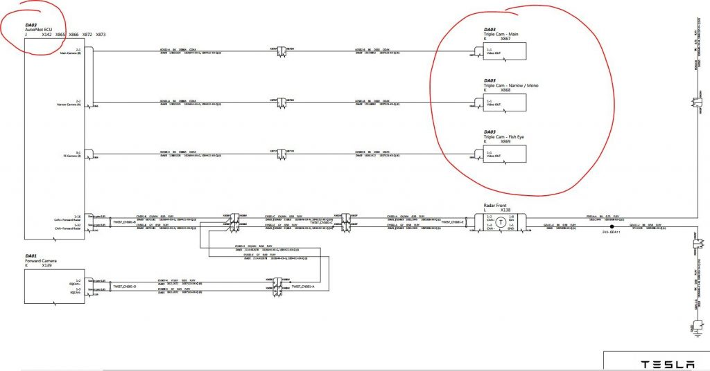 Model S triple cam schematic