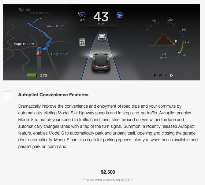 Autopilot Upgrade