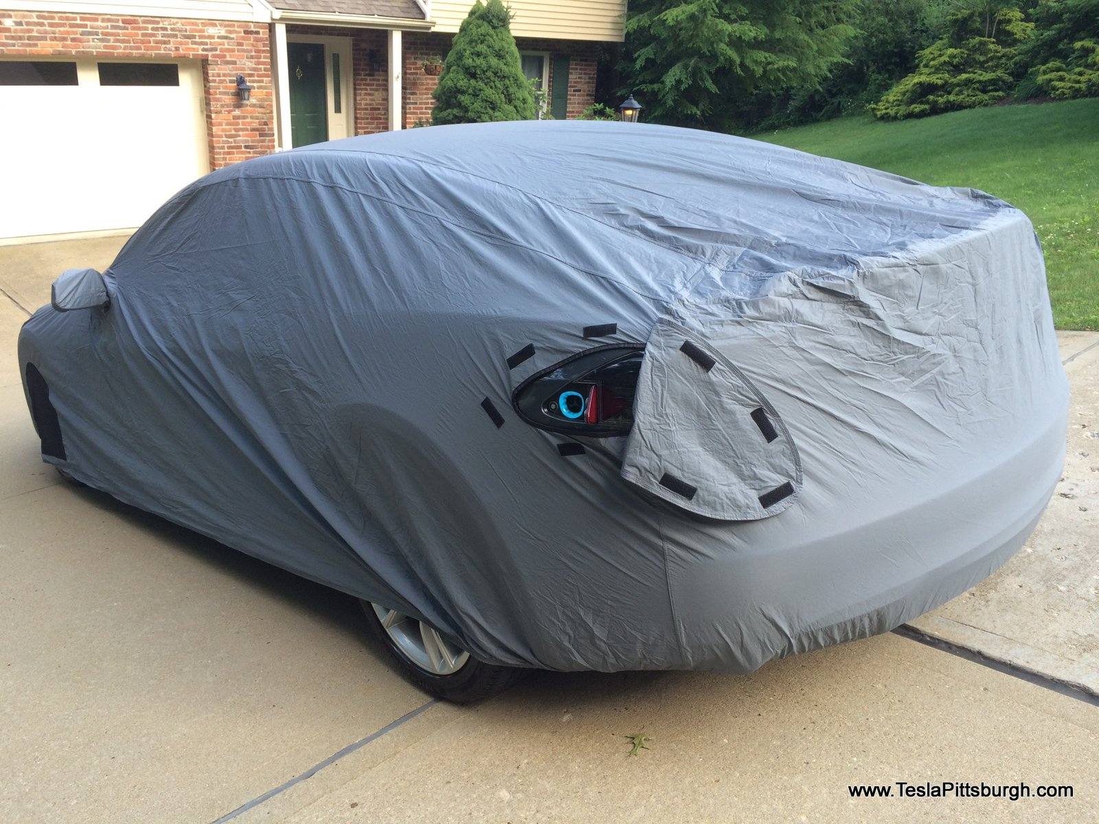 Outdoor Covers For Vehicles : Review tesla model s car cover for both indoor and