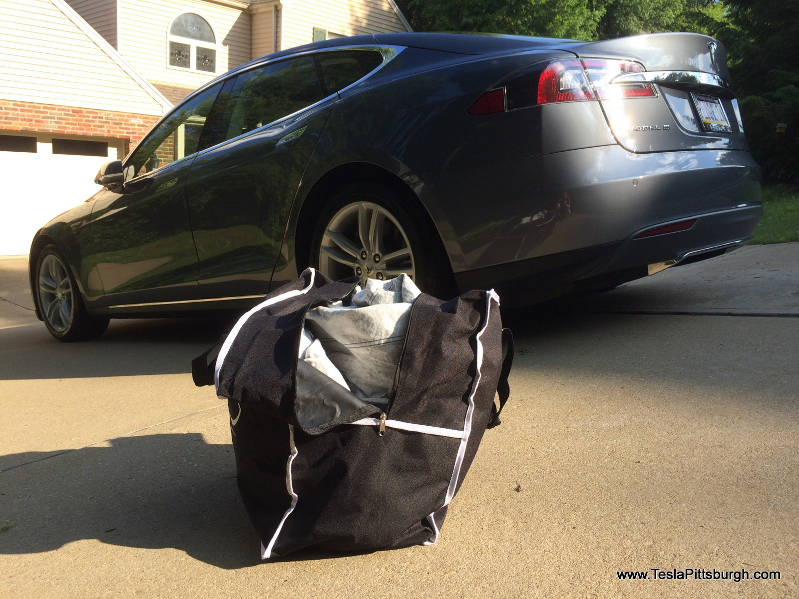 Tesla Model S car cover bag