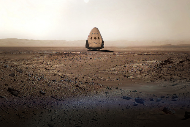 Dragon to Mars