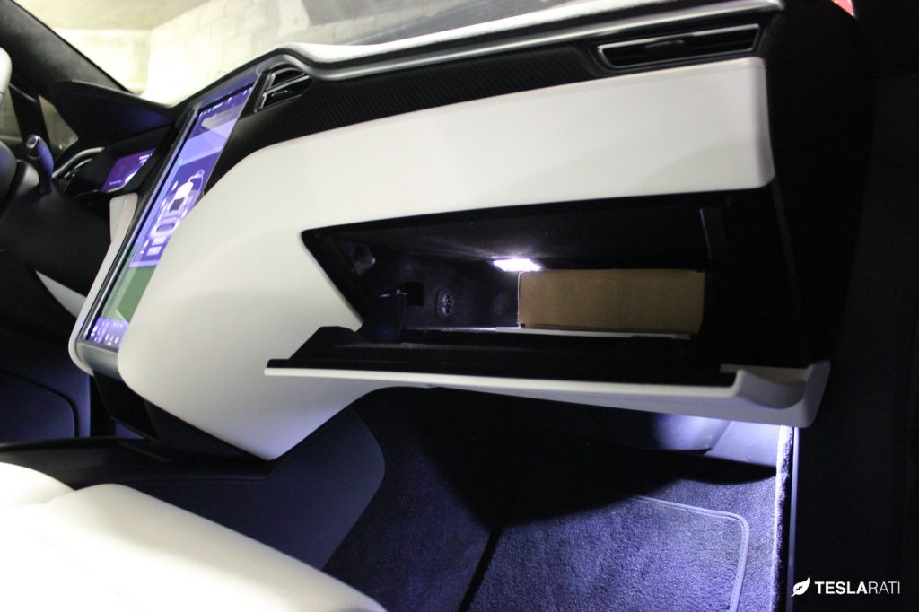 Abstract-Ocean-Tesla-Model-X-Ultra-Bright-LED-Glovebox