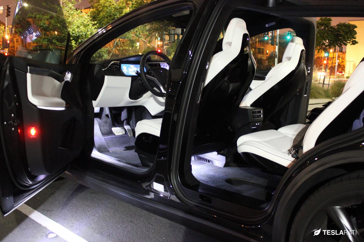 Upgrading Tesla Model X Lighting With Ultra Bright Leds