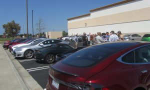 Tesla Supercharger congestion in Fountain Valley, CA
