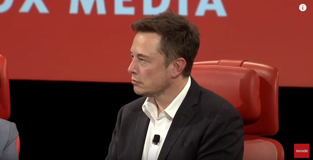 Elon at Code Conference via youtube