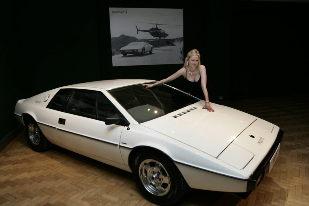 Elon Musk bought a Lotus Esprit S1
