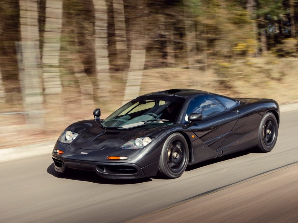 Elon Musk bought a McLaren F1 in 2000