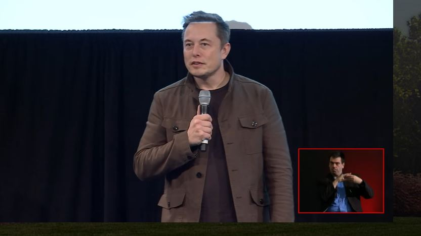Elon Musk at Tesla annual meeting 2016