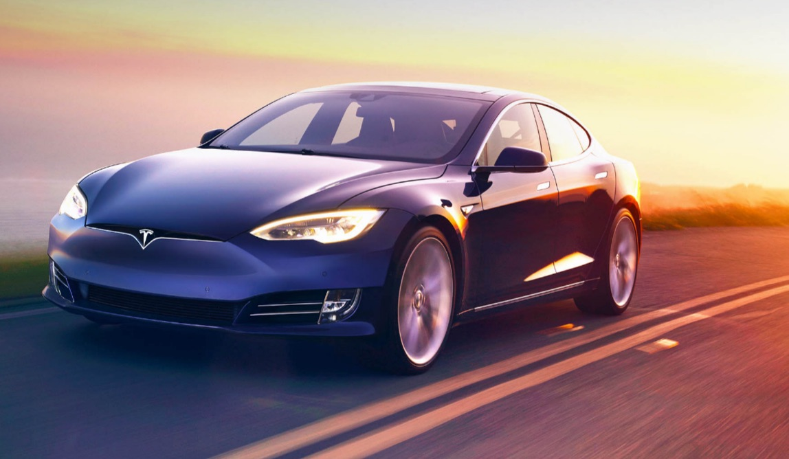 Refreshed-Tesla-Model-S-Sunset
