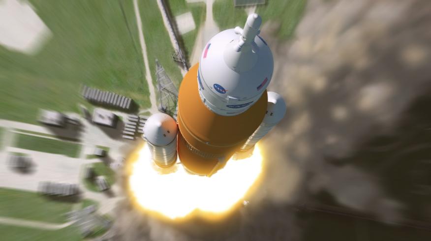 SLS at Launch