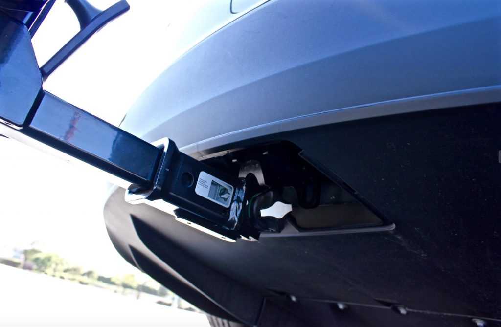 Tesla Model X hitch receiver