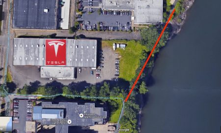 Tesla Showroom and Service Center Portland
