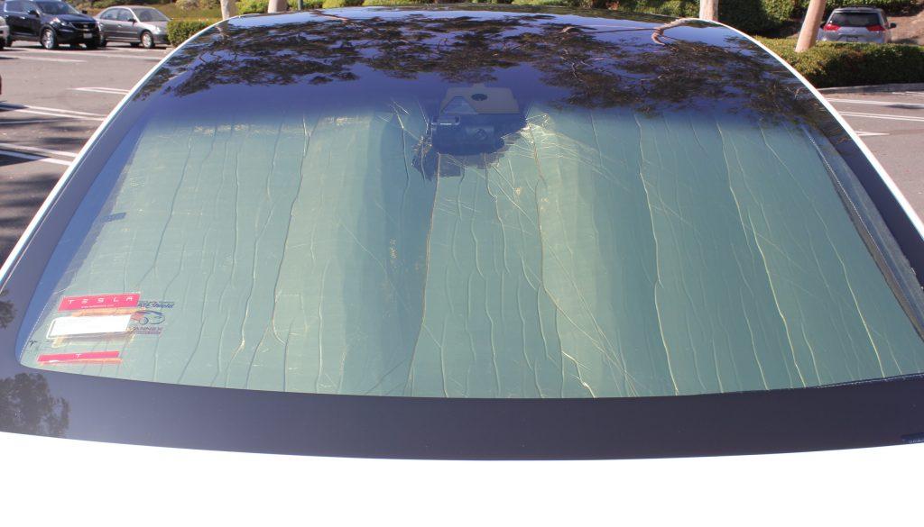 Tesla Model X HeatShield Sunshade