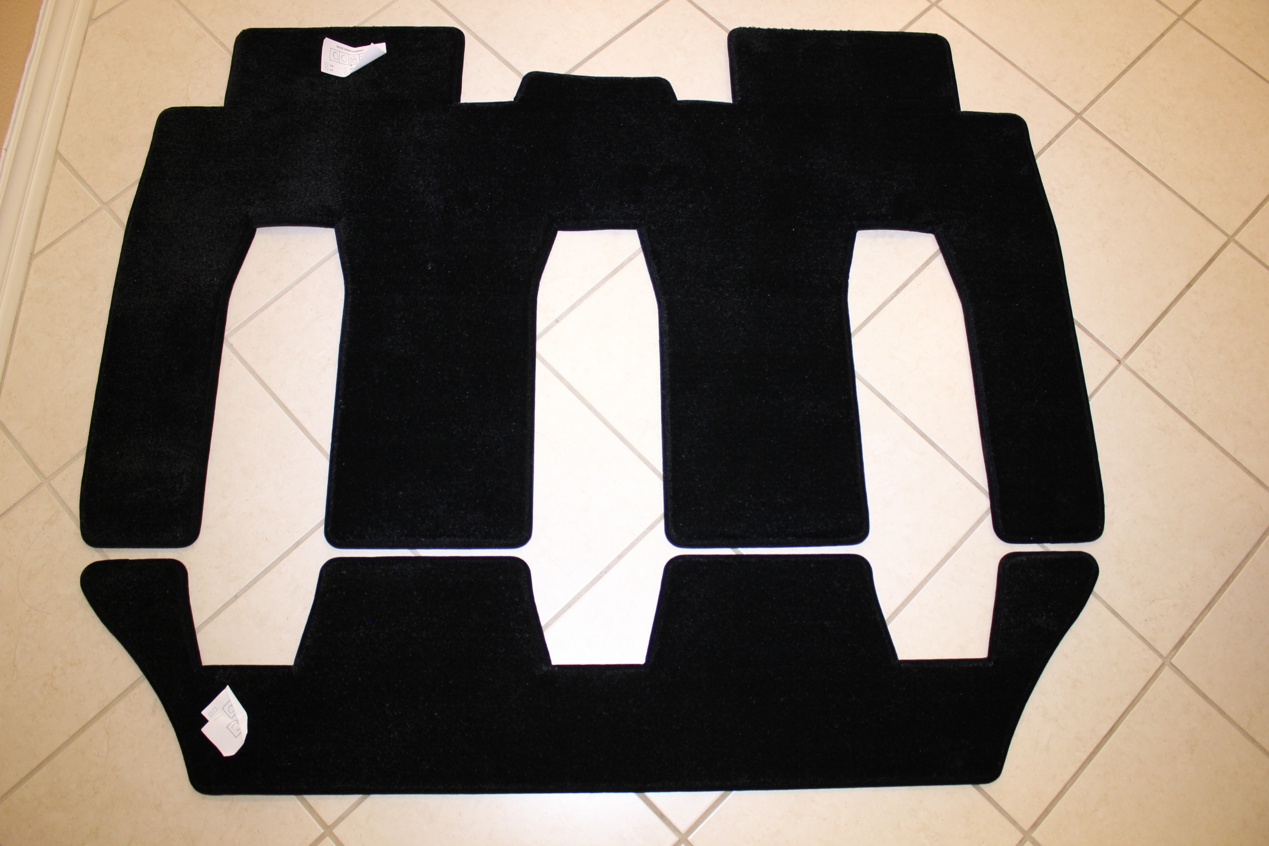 2nd and 3rd row LUXE Mats