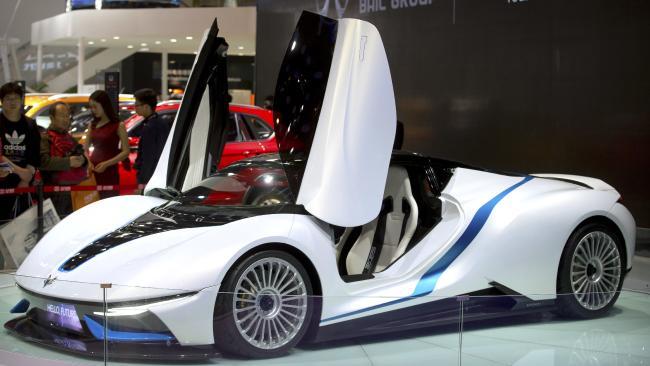 Chinese-NextEV-Supercar