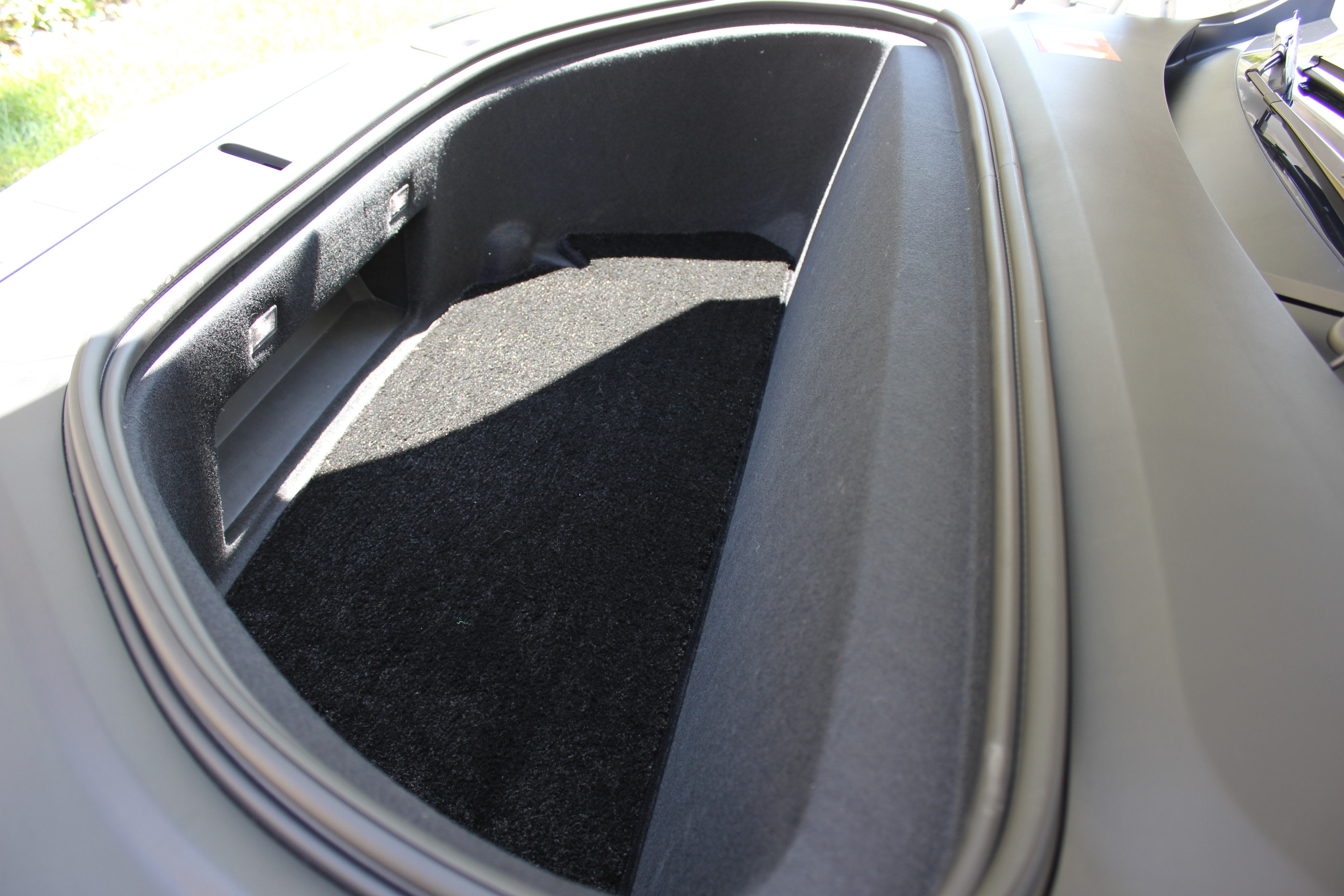Frunk Section LUXE mats