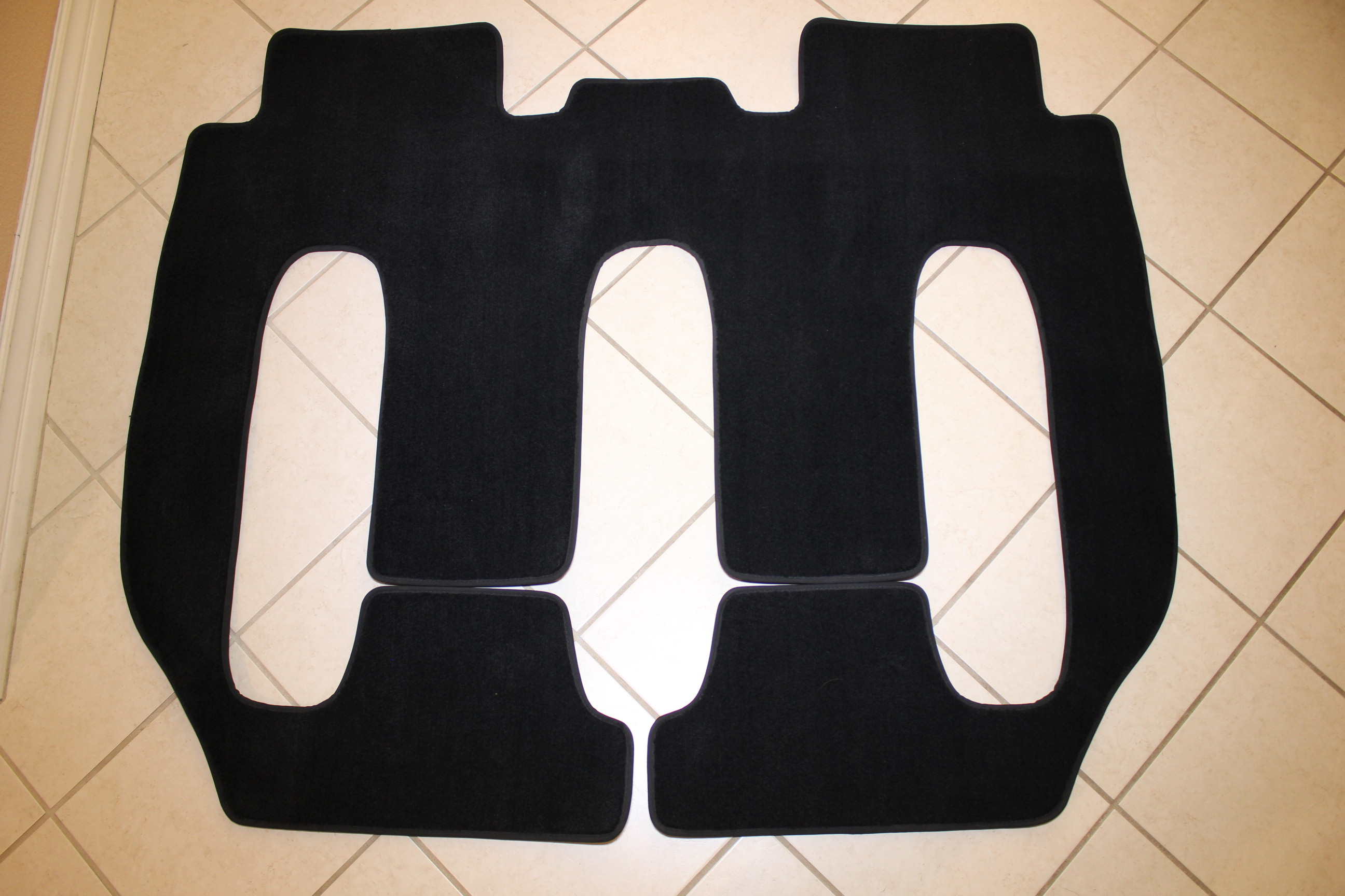OEM One Piece 2-3rd Row mats