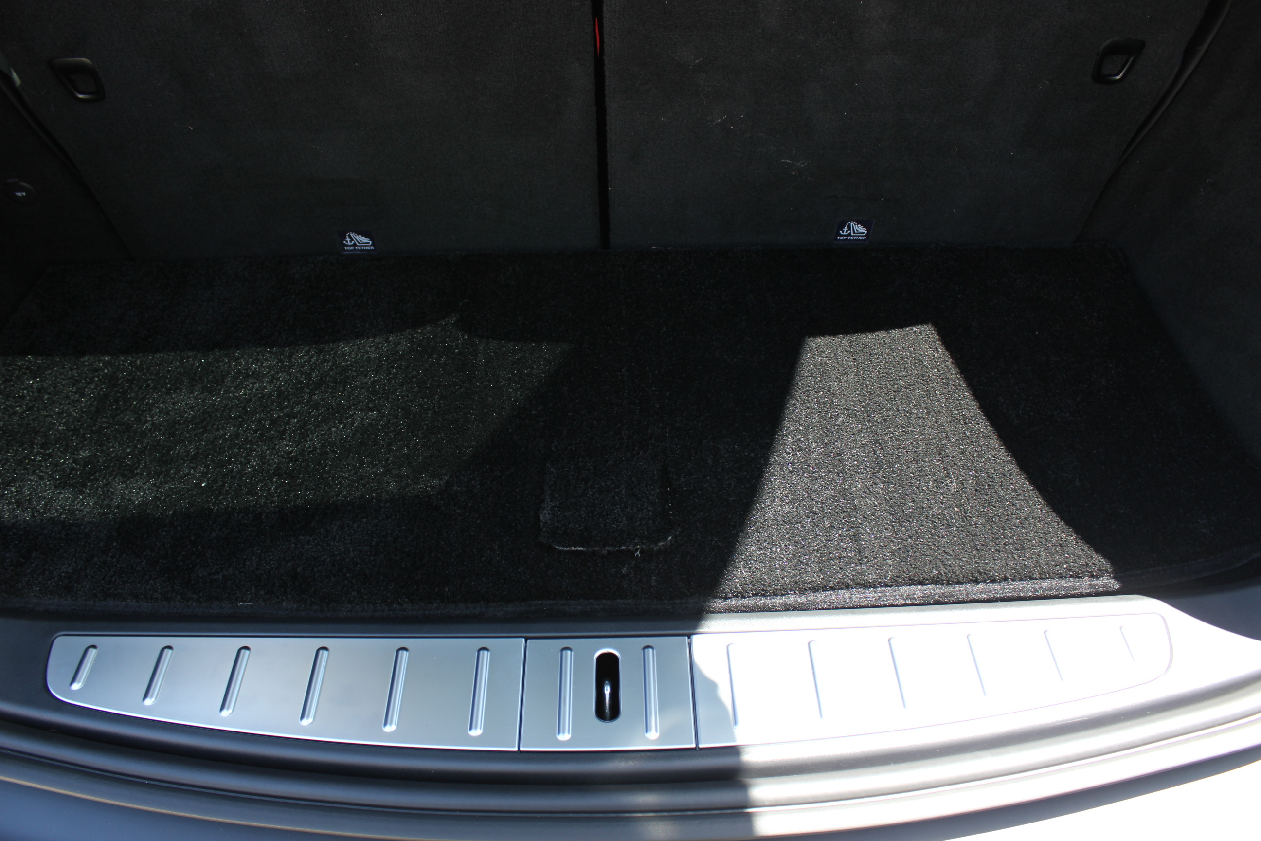 Small Cargo Mat to be used w: 3rd row up