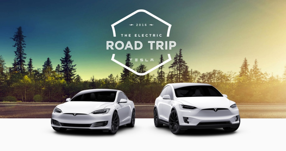 Tesla invites owners to take an electric road trip through a
