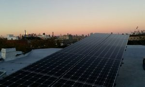 Solar System in New York via Brooklyn SolarWorks