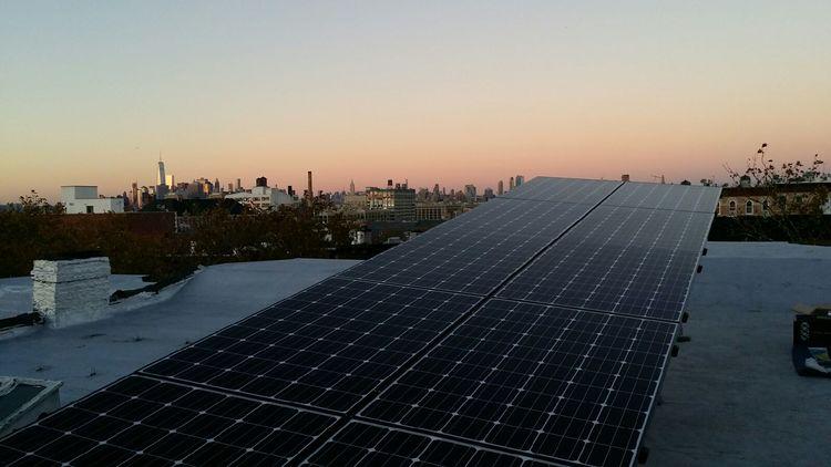 Solar System in New York via Brooklyn SolarWorks