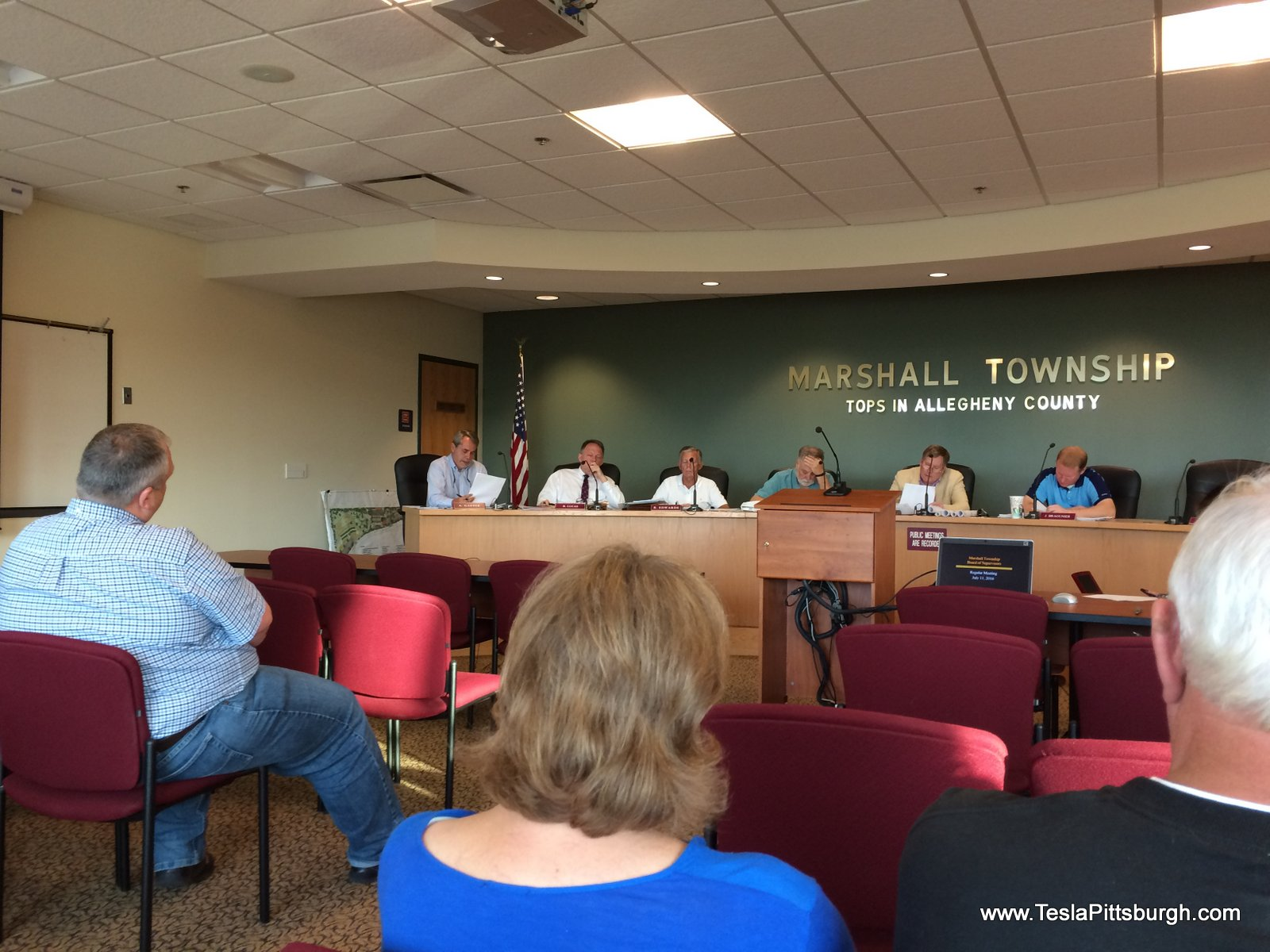 marshall township tesla zoning meeting
