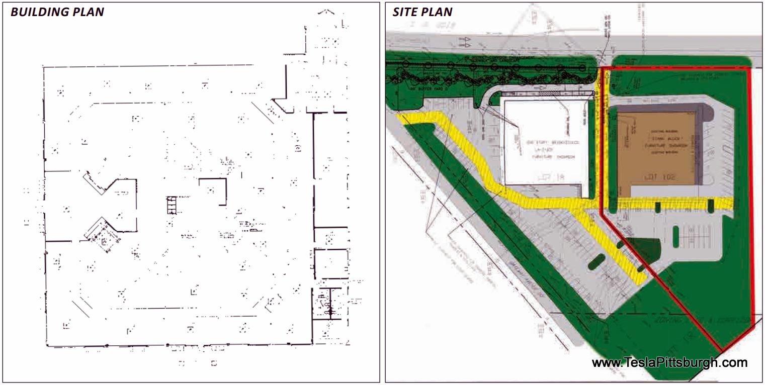 realtor listing of pittsburgh tesla service center property