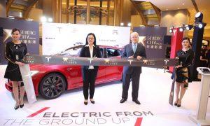 Tesla Supercharger in Macau