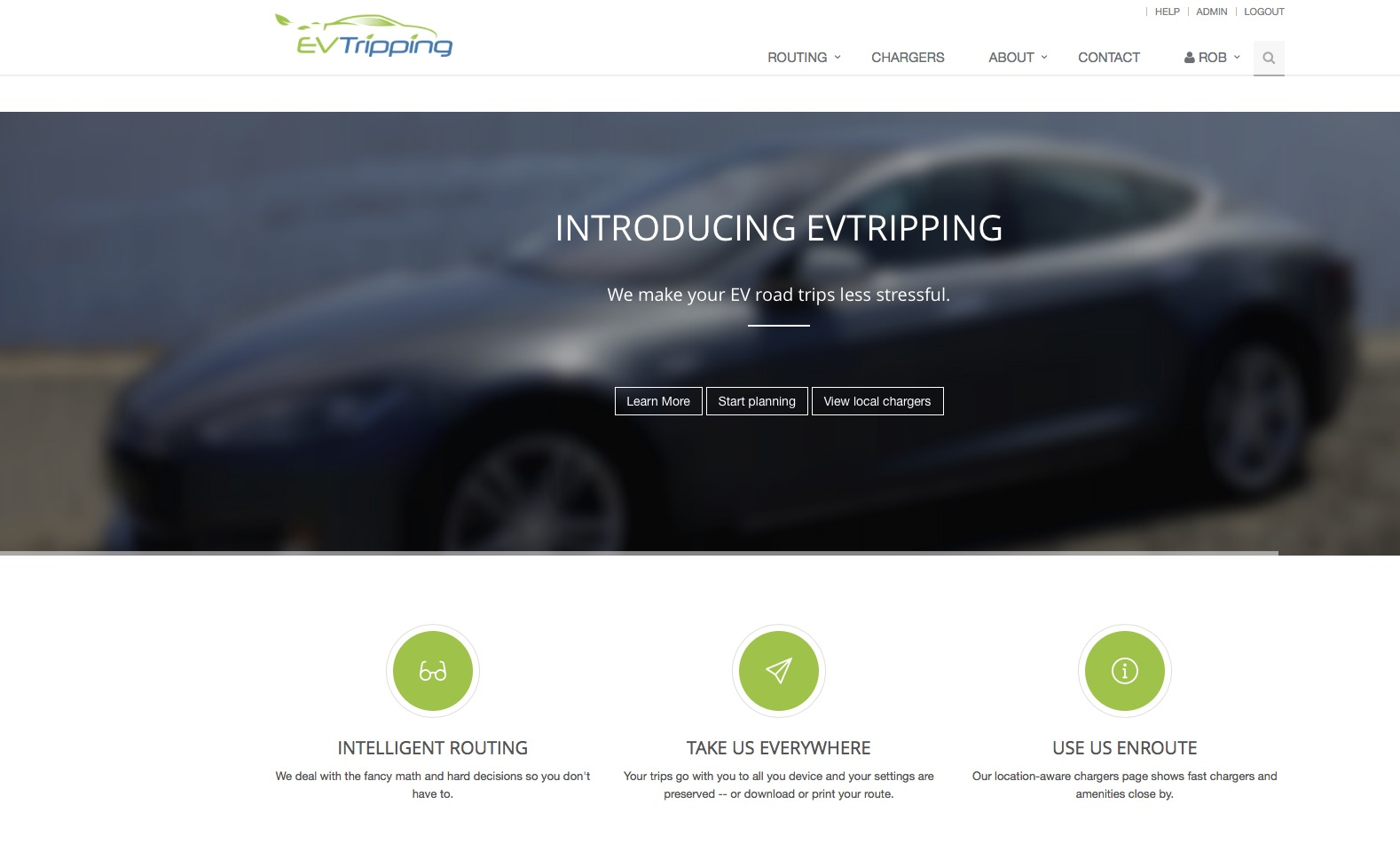Ev Trip Planner >> Evtripping Launches App To Enhance The Tesla Road Trip