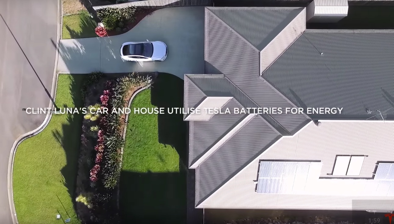 Tesla-Model-S-Powerwall-Solar