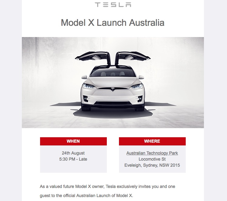 Electric Supercharger Australia: Right-hand Drive Model X Will Soon Hit Australia, Tesla