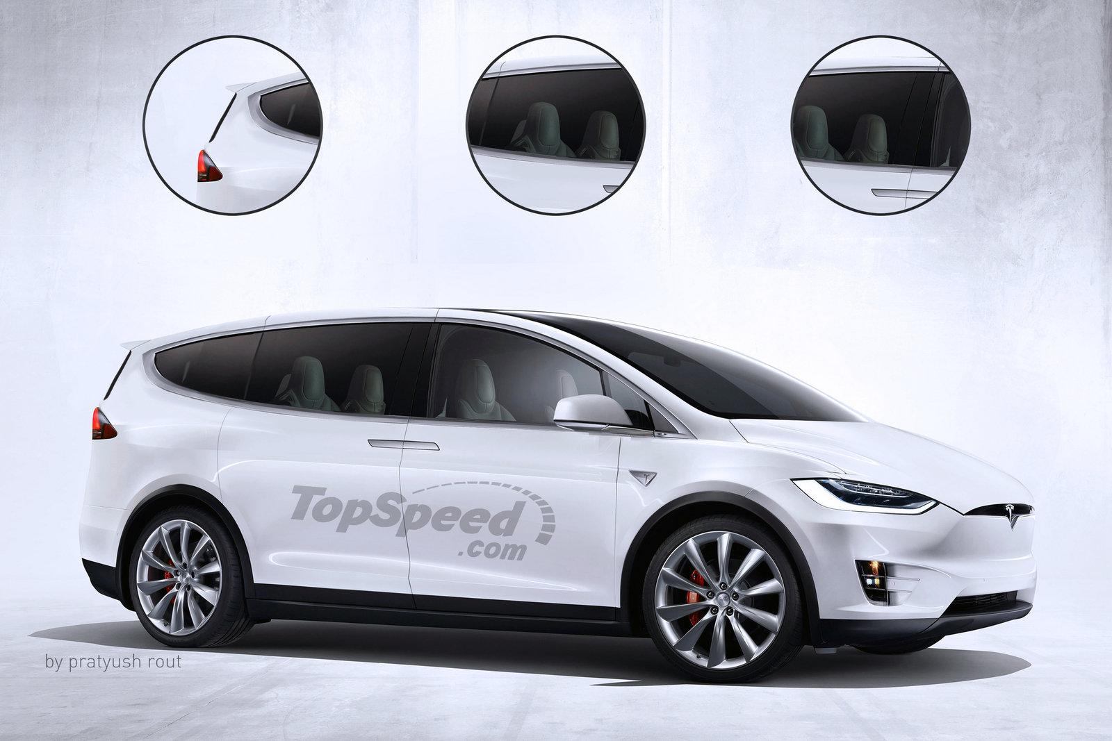 Tesla Minivan Rendition 2