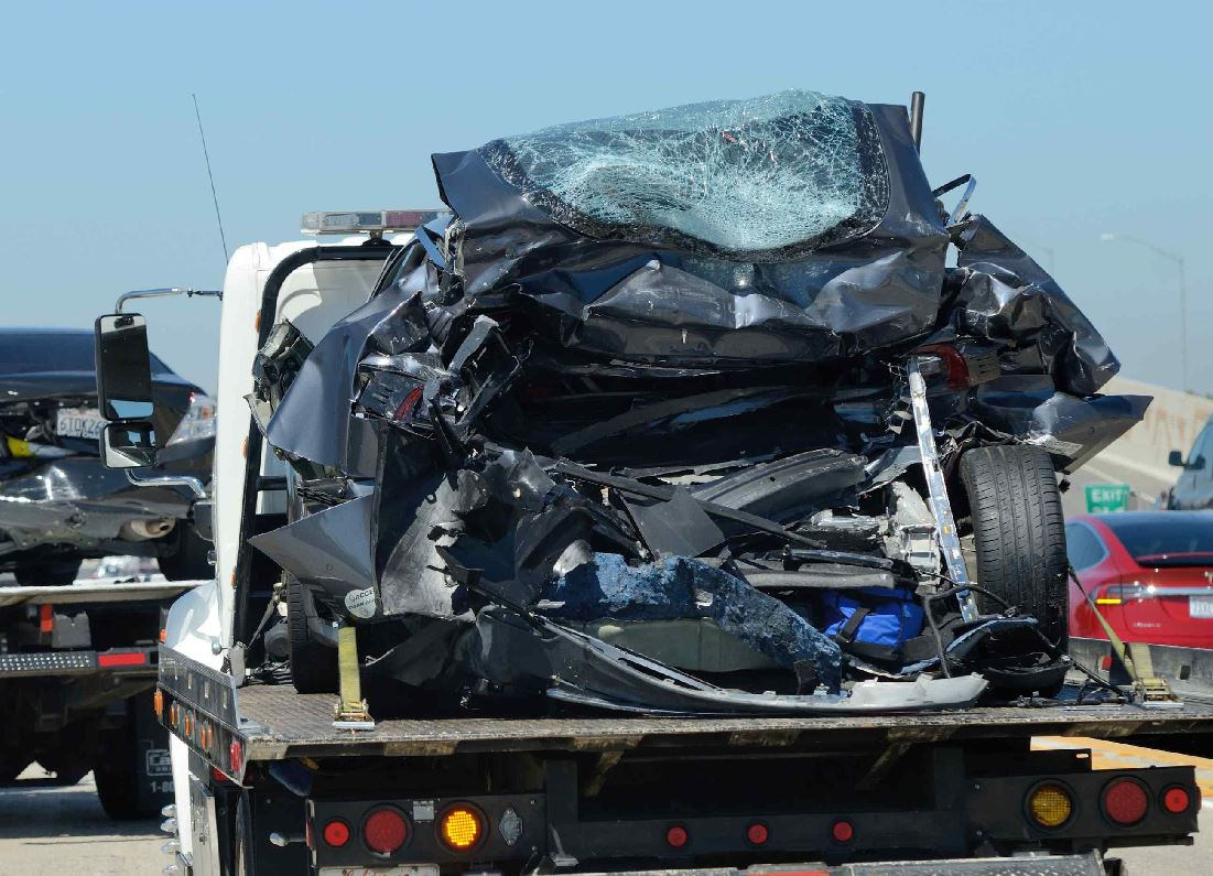 crash on 405