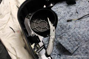 cutting away inside of tesla door panel pittsburgh