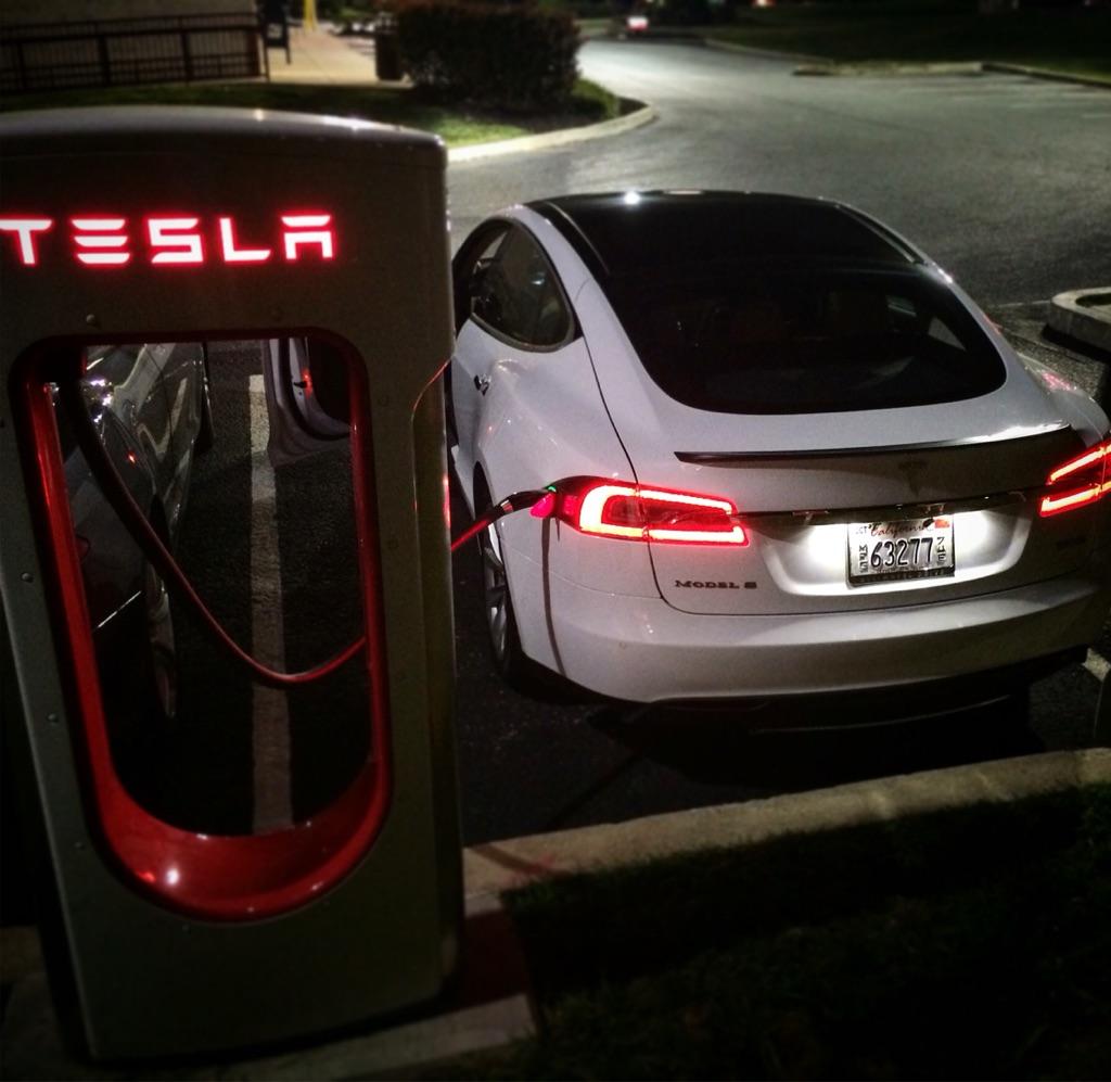 Tesla charging stations maryland
