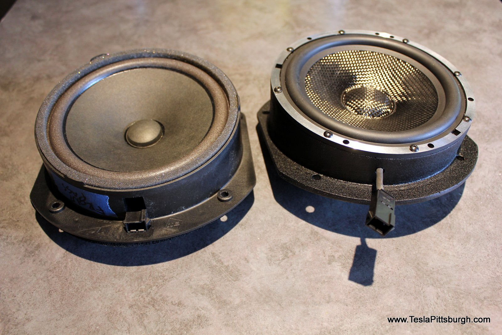 light harmonic labs speaker bracket thickness comparison stock