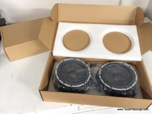 light harmonic labs speakers packed in box tesla pittsburgh