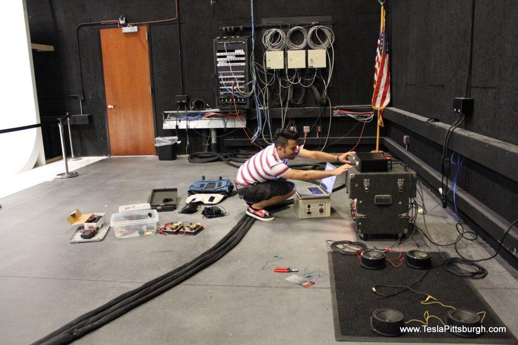 studio test of light harmonic labs stock factory speaker tesla pittsburgh