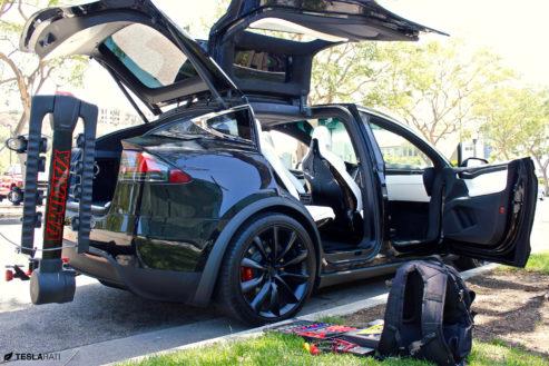 Installing A Tesla Model X Bike Rack Once You Go