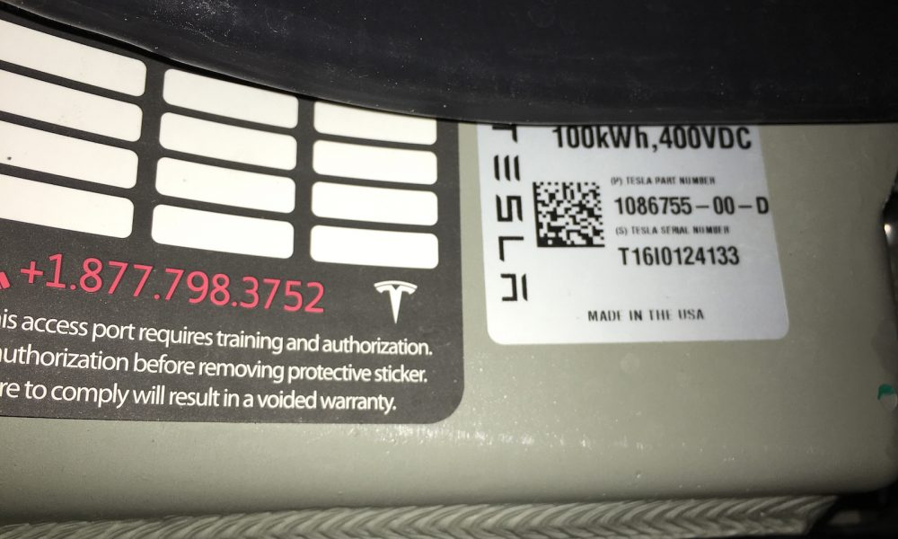 Tesla S 100 Kwh Battery Pack Is As Big As It Gets For Now