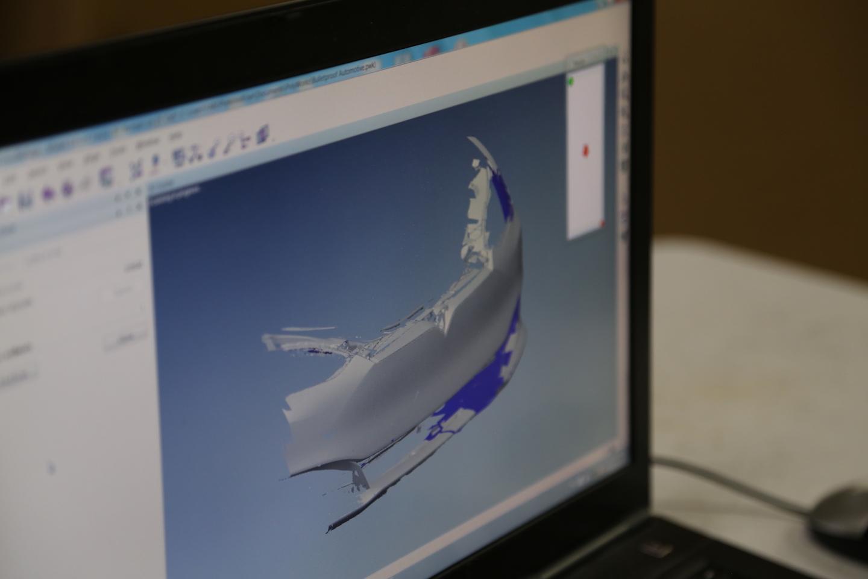 Tesla-Model-S-fascia-3D-scan