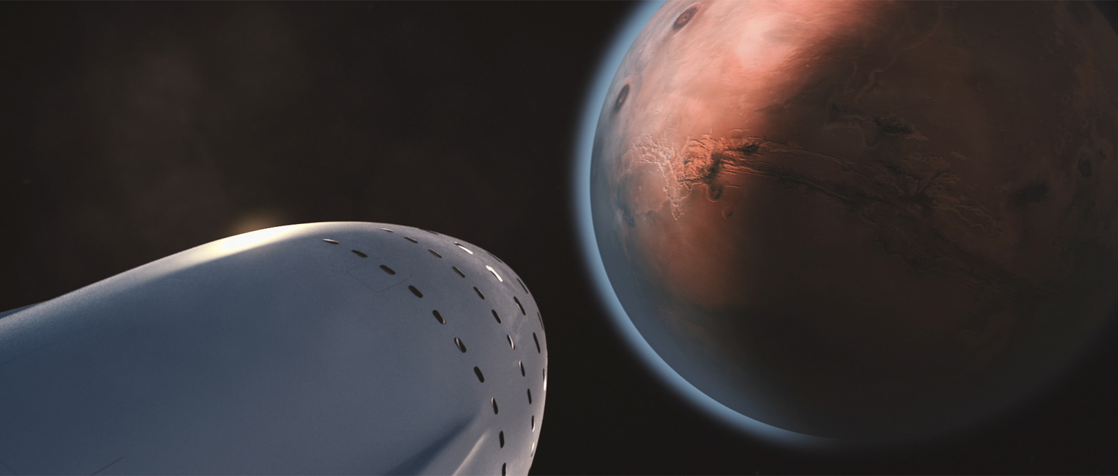 Interplanetary Transport System by SpaceX